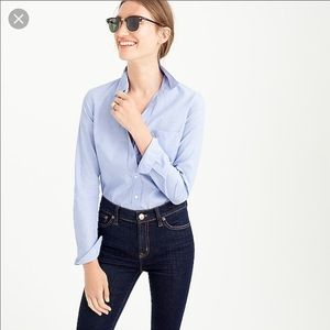 J. Crew Everyday Shirt In End-on-End Cotton